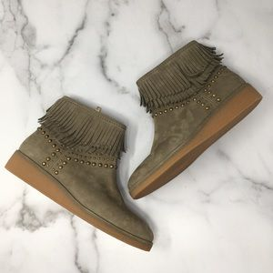 Ugg Ariane Ankle Boots in Sahara Size 7.5